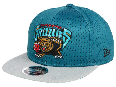 Vancouver Grizzlies New Era NBA HWC Heather Mesh Hook 9FIFTY Cap