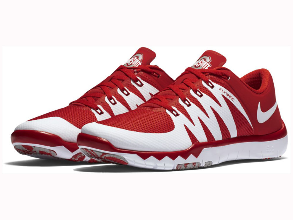 a98963532c75 ... czech ohio state buckeyes nike ncaa mens free trainer 5.0 v6 running  shoes 2cde5 0f57d ...