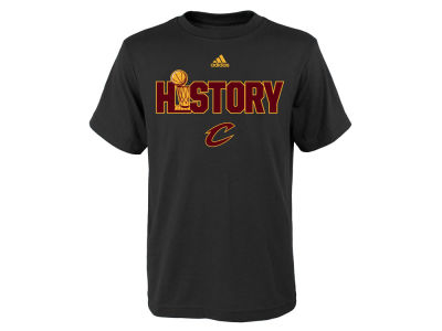 Cleveland Cavaliers NBA Youth Finals History T-Shirt
