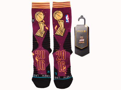 Cleveland Cavaliers Stance NBA Champions Socks