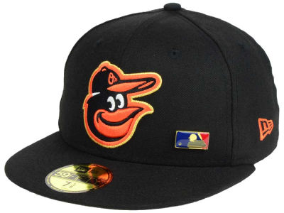 Baltimore Orioles New Era MLB Metal Man 59FIFTY Cap