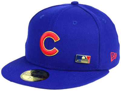 Chicago Cubs New Era MLB Metal Man 59FIFTY Cap