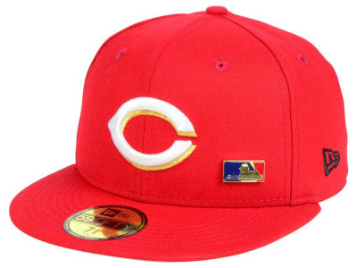 Cincinnati Reds New Era MLB Metal Man 59FIFTY Cap