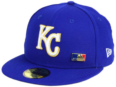 Kansas City Royals New Era MLB Metal Man 59FIFTY Cap