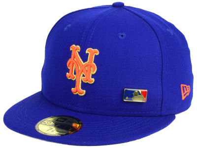 New York Mets New Era MLB Metal Man 59FIFTY Cap