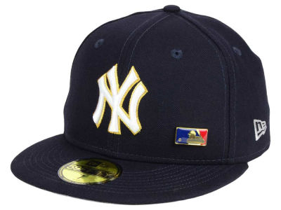 New York Yankees New Era MLB Metal Man 59FIFTY Cap