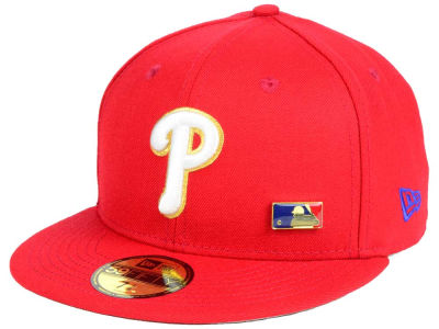 Philadelphia Phillies New Era MLB Metal Man 59FIFTY Cap