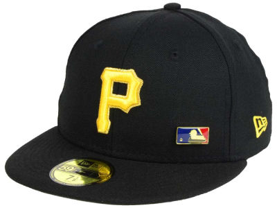 Pittsburgh Pirates New Era MLB Metal Man 59FIFTY Cap