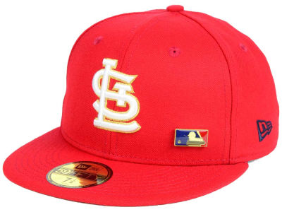 St. Louis Cardinals New Era MLB Metal Man 59FIFTY Cap