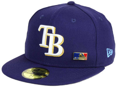 Tampa Bay Rays New Era MLB Metal Man 59FIFTY Cap