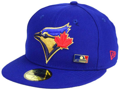 Toronto Blue Jays New Era MLB Metal Man 59FIFTY Cap