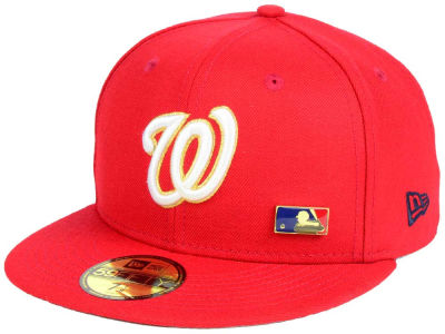Washington Nationals New Era MLB Metal Man 59FIFTY Cap