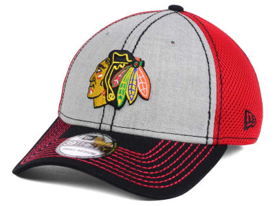Chicago Blackhawks New Era NHL Heathered Neo 39THIRTY Cap