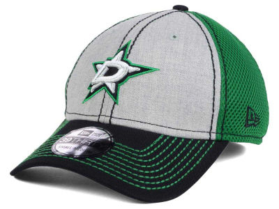 Dallas Stars New Era NHL Heathered Neo 39THIRTY Cap