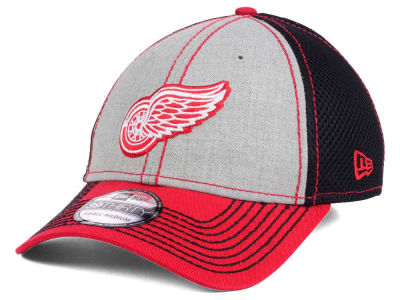Detroit Red Wings New Era NHL Heathered Neo 39THIRTY Cap