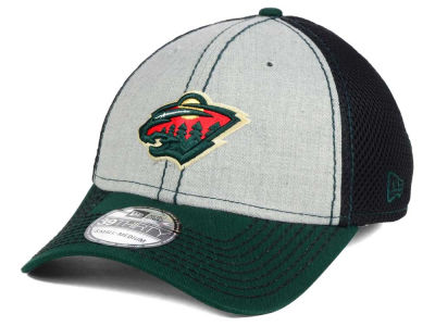 Minnesota Wild New Era NHL Heathered Neo 39THIRTY Cap