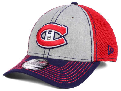 Montreal Canadiens New Era NHL Heathered Neo 39THIRTY Cap