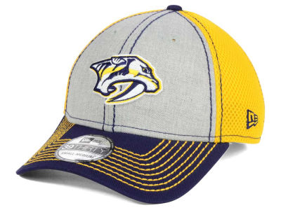 Nashville Predators New Era NHL Heathered Neo 39THIRTY Cap