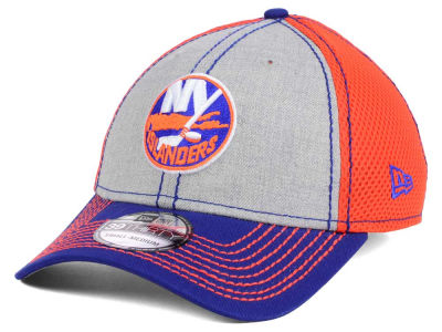 New York Islanders New Era NHL Heathered Neo 39THIRTY Cap