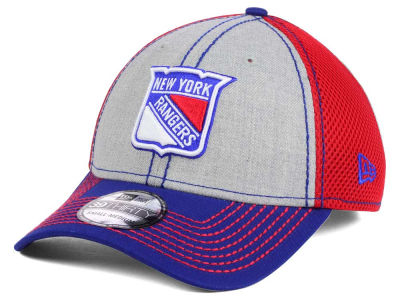 New York Rangers New Era NHL Heathered Neo 39THIRTY Cap