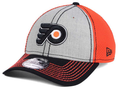 Philadelphia Flyers New Era NHL Heathered Neo 39THIRTY Cap
