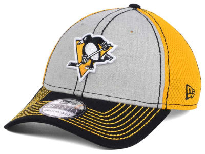 Pittsburgh Penguins New Era NHL Heathered Neo 39THIRTY Cap