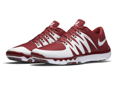 Alabama Crimson Tide Nike NCAA Men's Free Trainer 5.0 V6 AMP Running Shoes