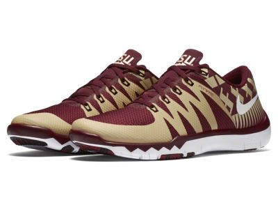 Florida State Seminoles Nike NCAA Men's Free Trainer 5.0 V6 AMP Running Shoes