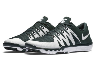 Michigan State Spartans Nike NCAA Men's Free Trainer 5.0 V6 AMP Running Shoes