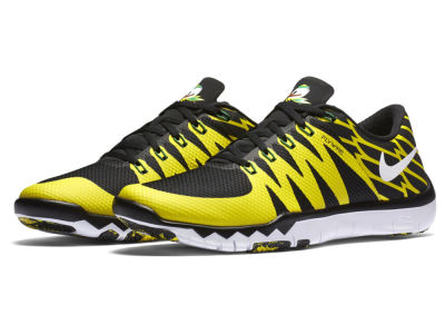 Oregon Ducks Nike NCAA Men's Free Trainer 5.0 V6 AMP Running Shoes