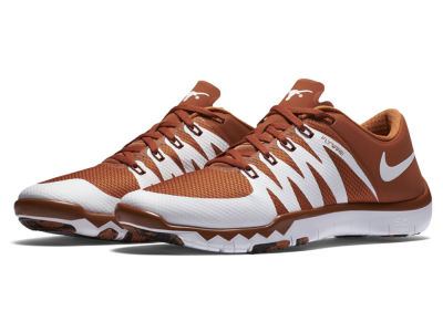 Texas Longhorns Nike NCAA Men's Free Trainer 5.0 V6 AMP Running Shoes