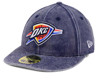 Oklahoma City Thunder New Era NBA LP Faded 59FIFTY Cap