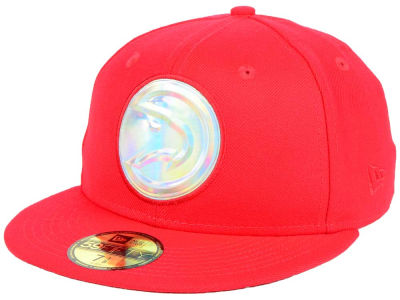 Atlanta Hawks New Era NBA Iridescent 59FIFTY Cap