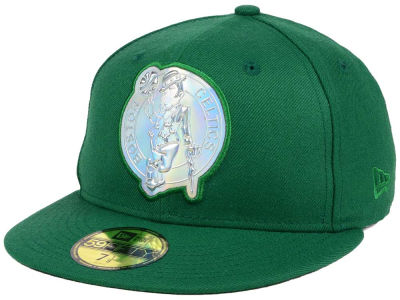 Boston Celtics New Era NBA Iridescent 59FIFTY Cap