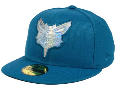 Charlotte Hornets New Era NBA Iridescent 59FIFTY Cap