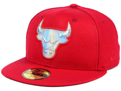 Chicago Bulls New Era NBA Iridescent 59FIFTY Cap
