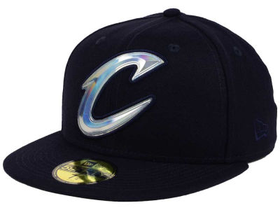 Cleveland Cavaliers New Era NBA Iridescent 59FIFTY Cap