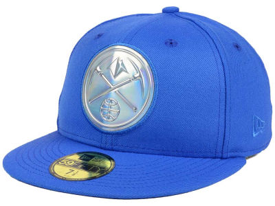 Denver Nuggets New Era NBA Iridescent 59FIFTY Cap