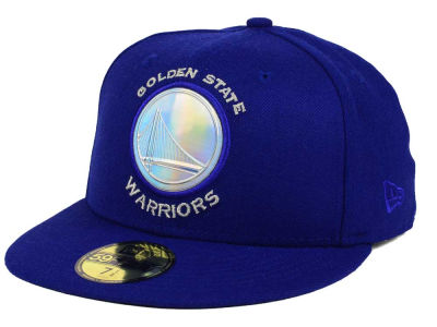 Golden State Warriors New Era NBA Iridescent 59FIFTY Cap