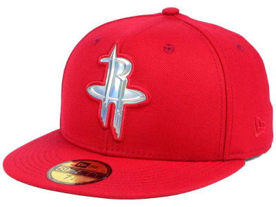 Houston Rockets New Era NBA Iridescent 59FIFTY Cap