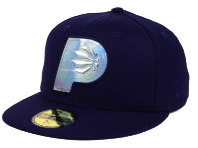 Indiana Pacers New Era NBA Iridescent 59FIFTY Cap