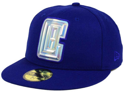 Los Angeles Clippers New Era NBA Iridescent 59FIFTY Cap