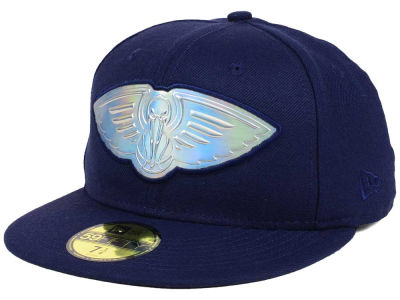 New Orleans Pelicans New Era NBA Iridescent 59FIFTY Cap