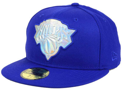 New York Knicks New Era NBA Iridescent 59FIFTY Cap