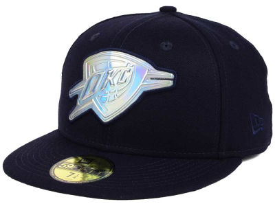 Oklahoma City Thunder New Era NBA Iridescent 59FIFTY Cap