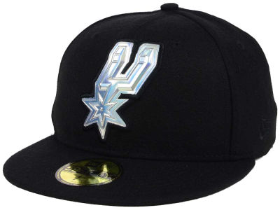 San Antonio Spurs New Era NBA Iridescent 59FIFTY Cap