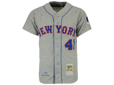 New York Mets Tom Seaver Mitchell and Ness MLB Men's Authentic Jersey