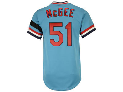 St. Louis Cardinals Willie McGee Mitchell & Ness MLB Men's Authentic Jersey