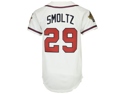Atlanta Braves John Smoltz Mitchell & Ness MLB Men's Authentic Jersey