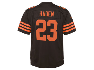 Cleveland Browns Joe Haden Nike NFL Youth Color Rush Jersey